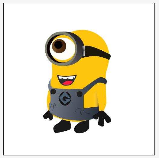Amazing Design Dispicable Me Minion Tut010